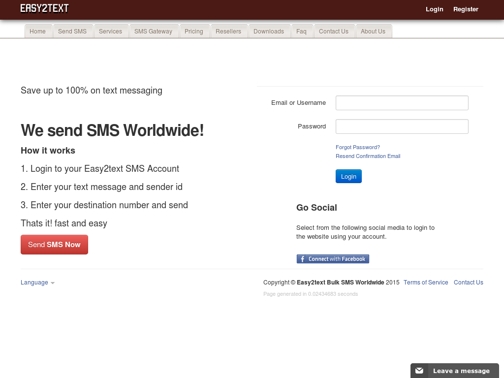 Easy2text Bulk Sms Worldwide Competitors, Revenue and