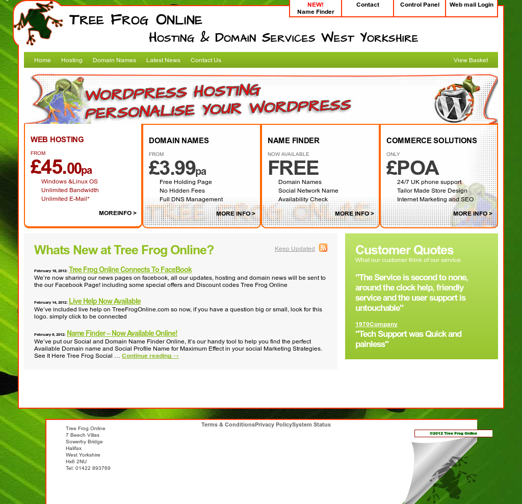 Tree Frog Online Competitors, Revenue and Employees - Owler Company