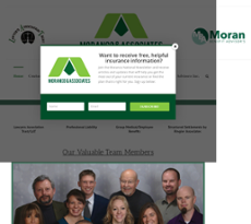 Moranco & Assoc website history