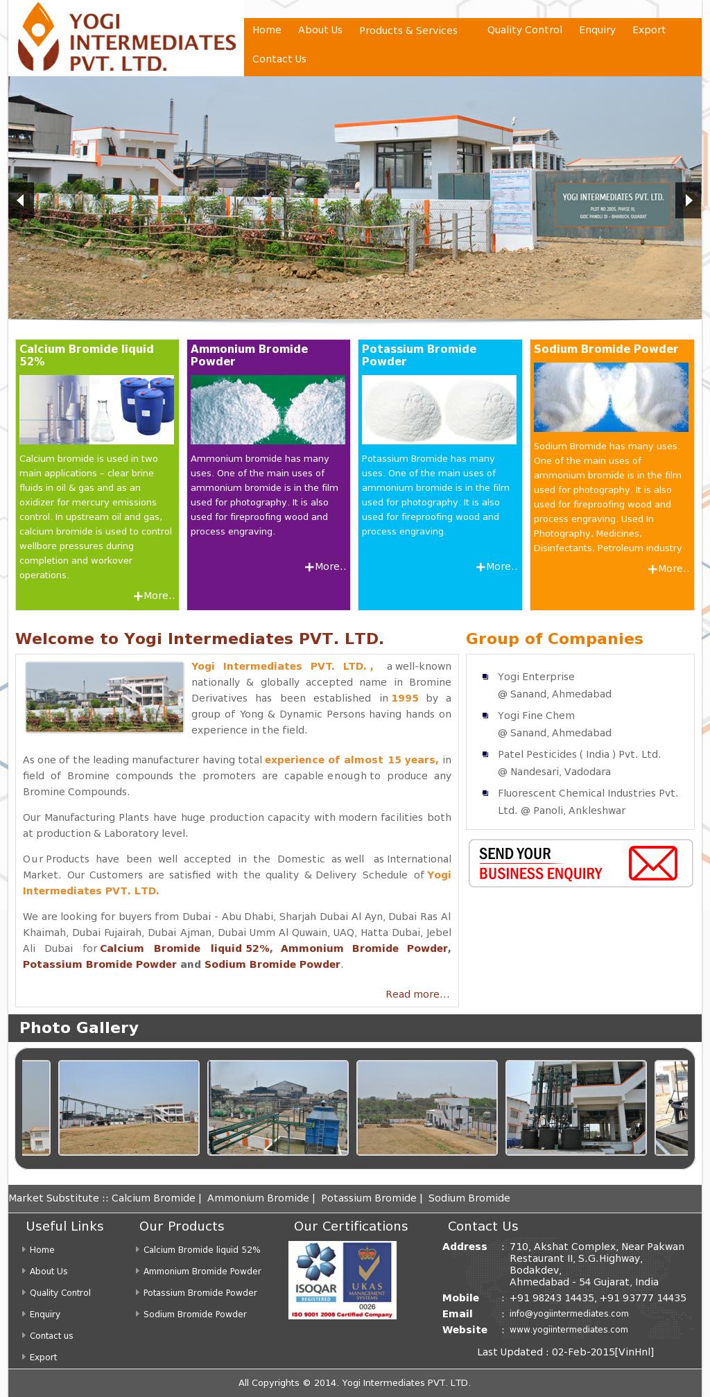 Yogi Intermediates Competitors, Revenue and Employees