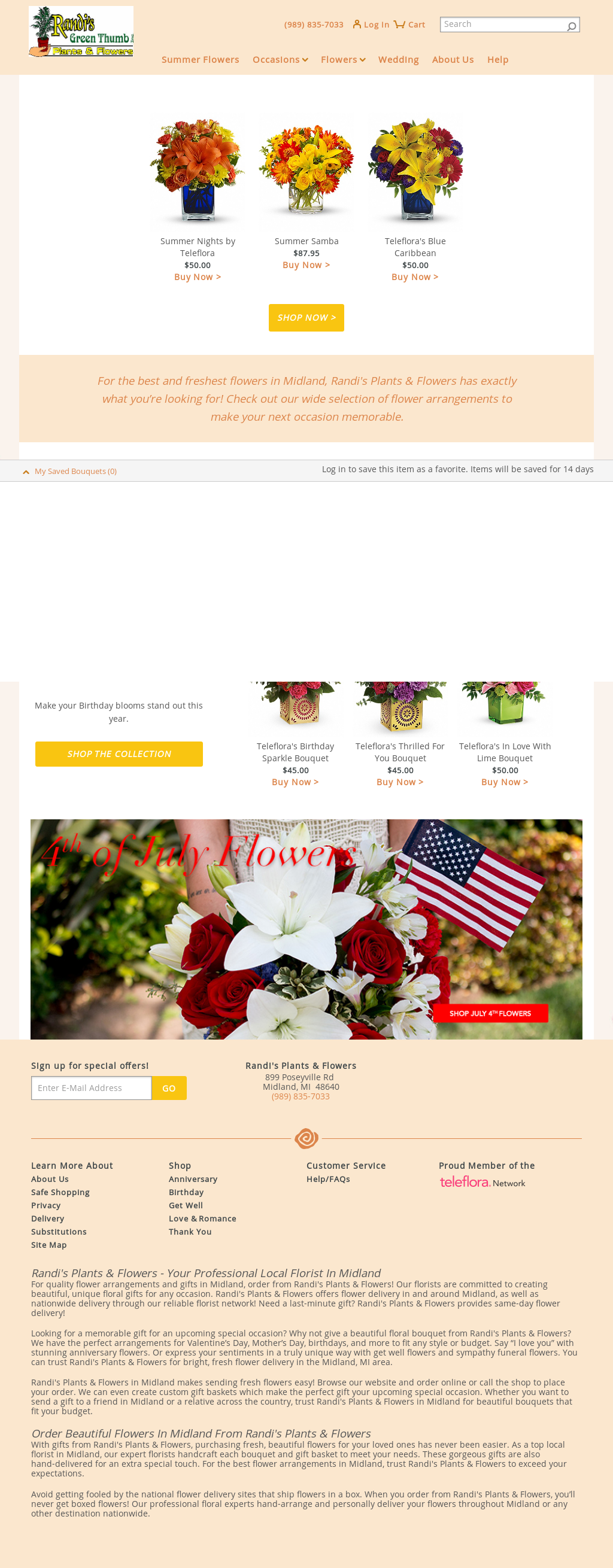 Randi's Plants & Flowers Competitors, Revenue and Employees