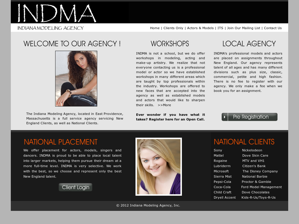 Indiana Modeling Agency Competitors, Revenue and Employees