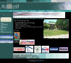 Ashwood website history