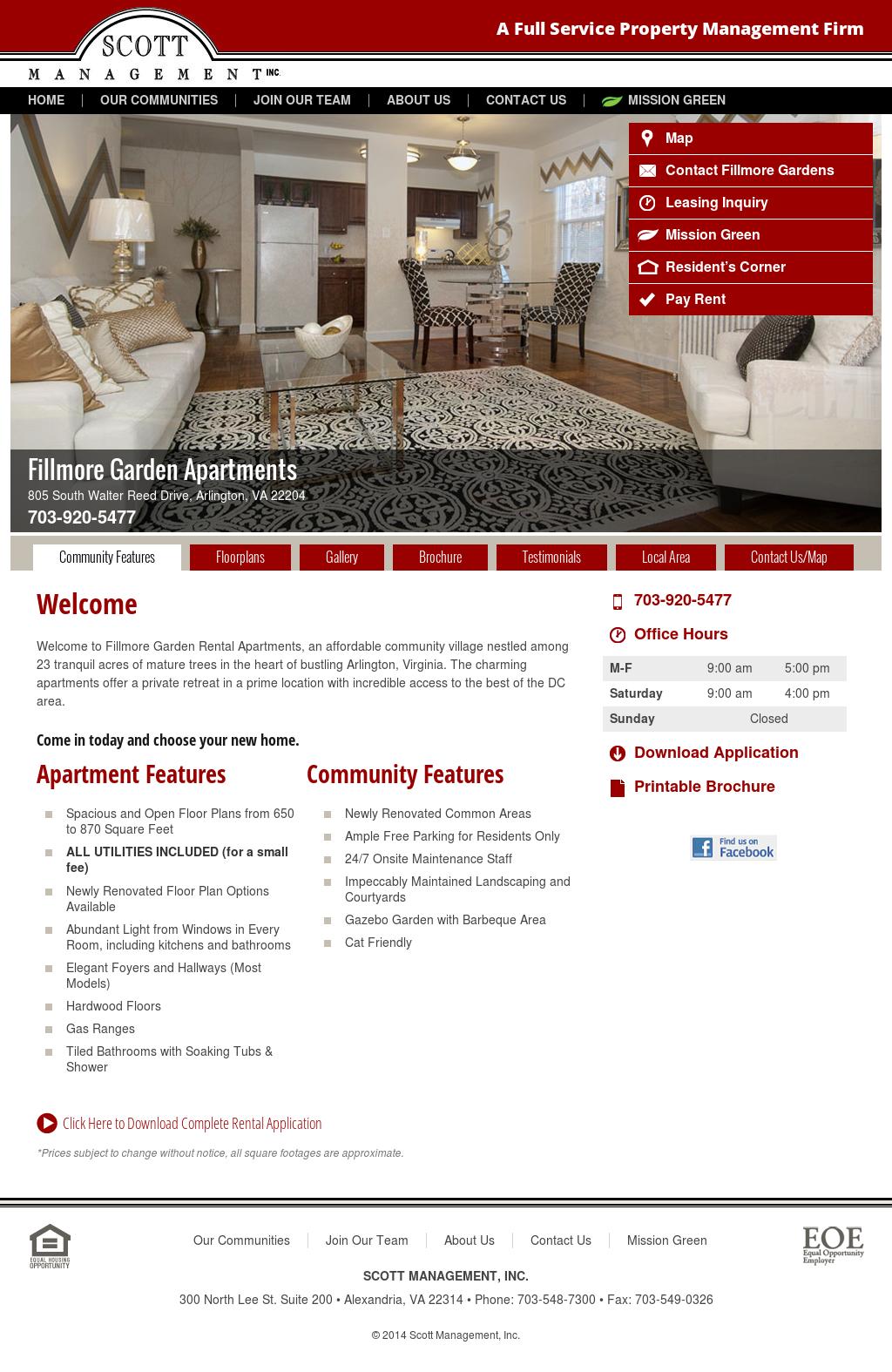 fillmore gardens apartments website history - Fillmore Garden Apartments