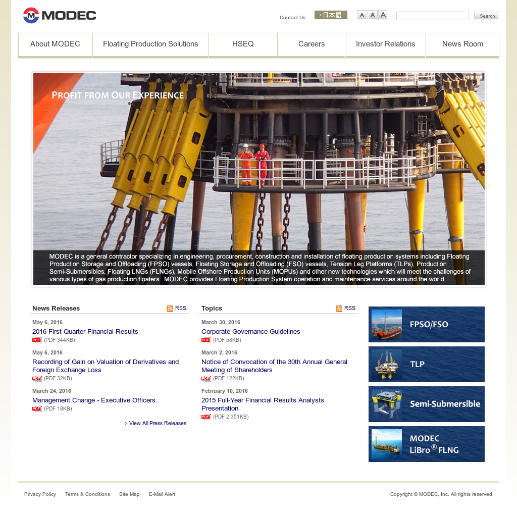 Owler Reports - Modec: KEPPEL WINS CONTRACT FOR TOPSIDES AND