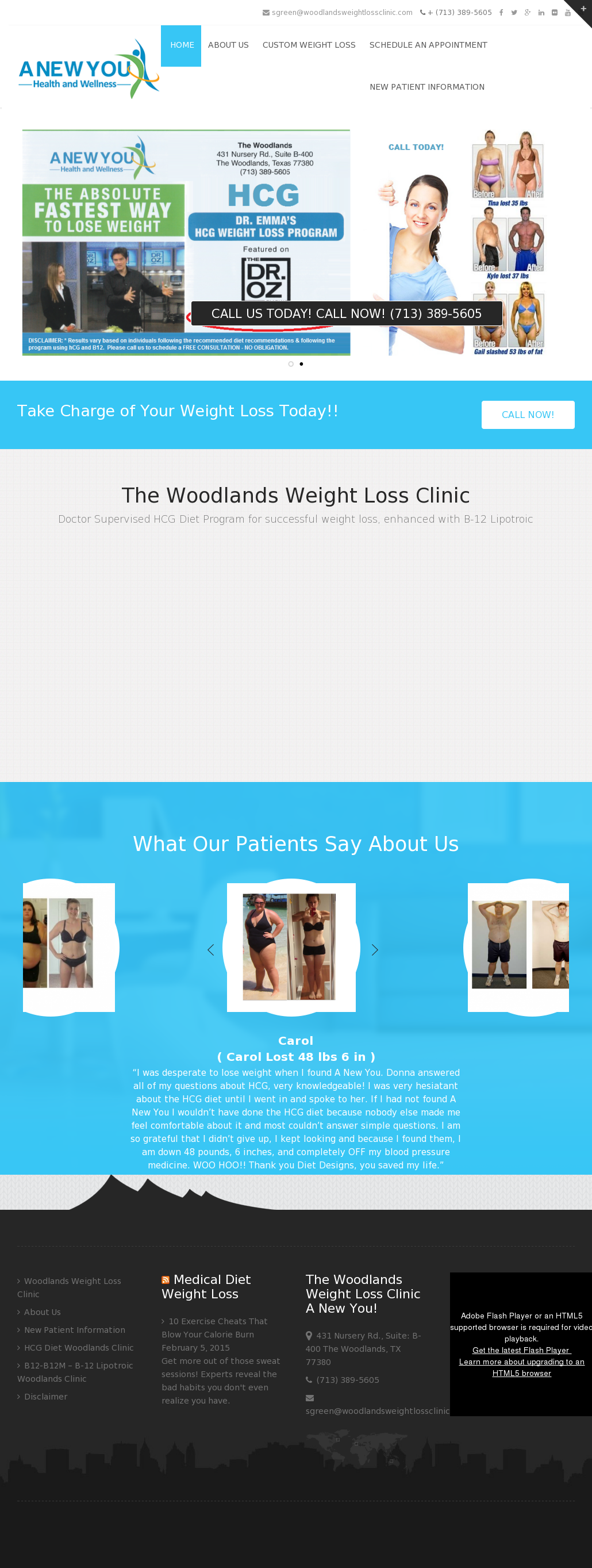 Woodlands Weight Loss Clinic Competitors Revenue And Employees