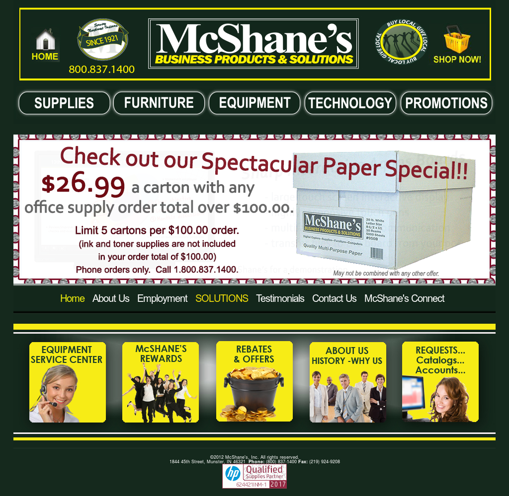 McShaneu0027s Website History