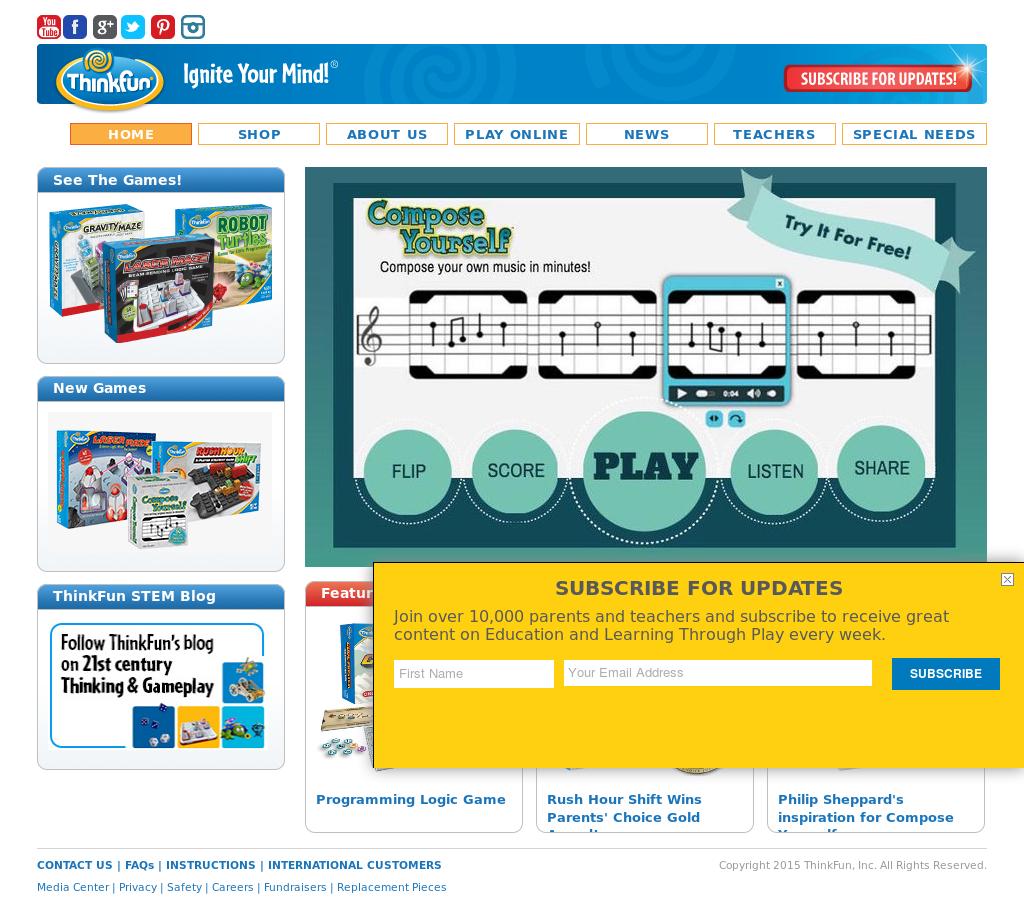 Thinkfun Competitors Revenue And Employees Owler Company Profile Circuit Maze
