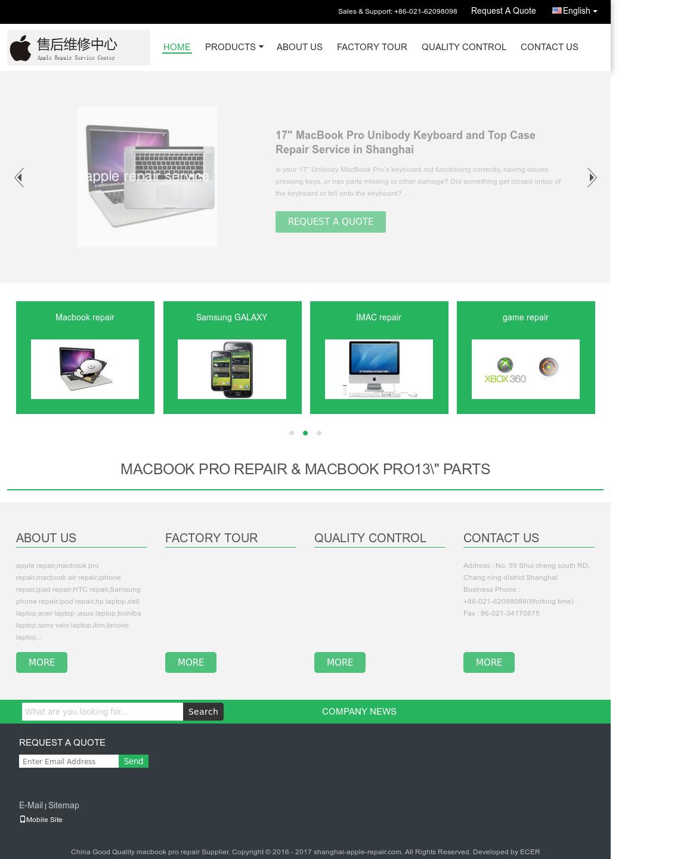 Shanghai Apple Repair Service Store Competitors, Revenue and