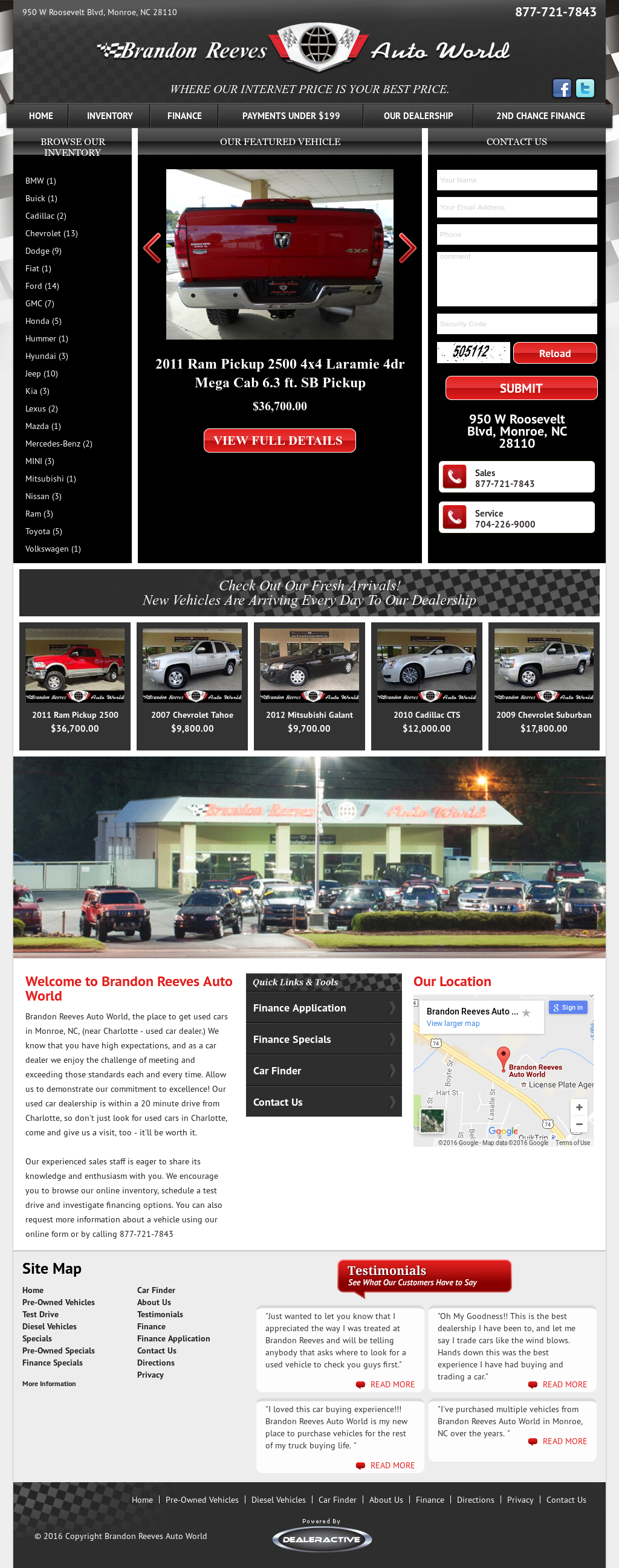 Brandon Reeves Auto World Compeors Revenue And Employees Owler Company Profile