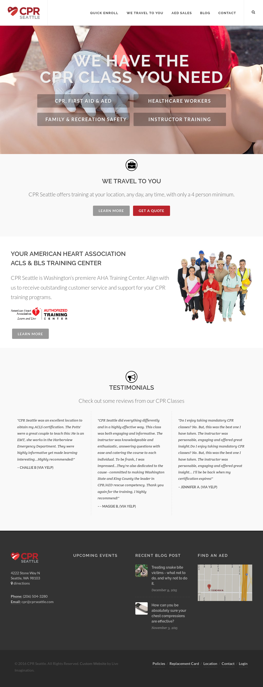 Cpr Classes Usa Competitors Revenue And Employees Owler Company