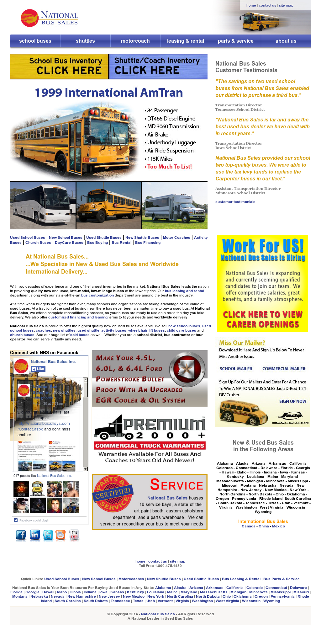 National Bus Sales Competitors, Revenue and Employees - Owler