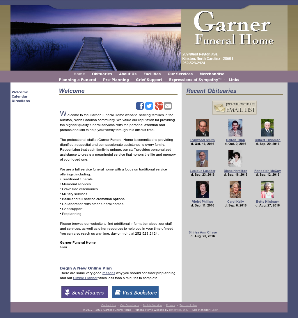 Garner Funeralhome Competitors, Revenue and Employees