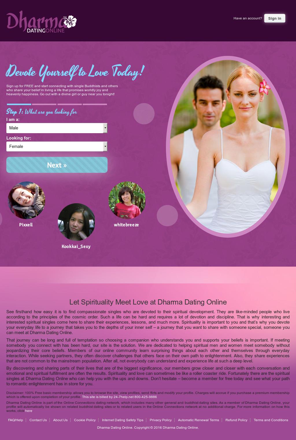 Dharma dating