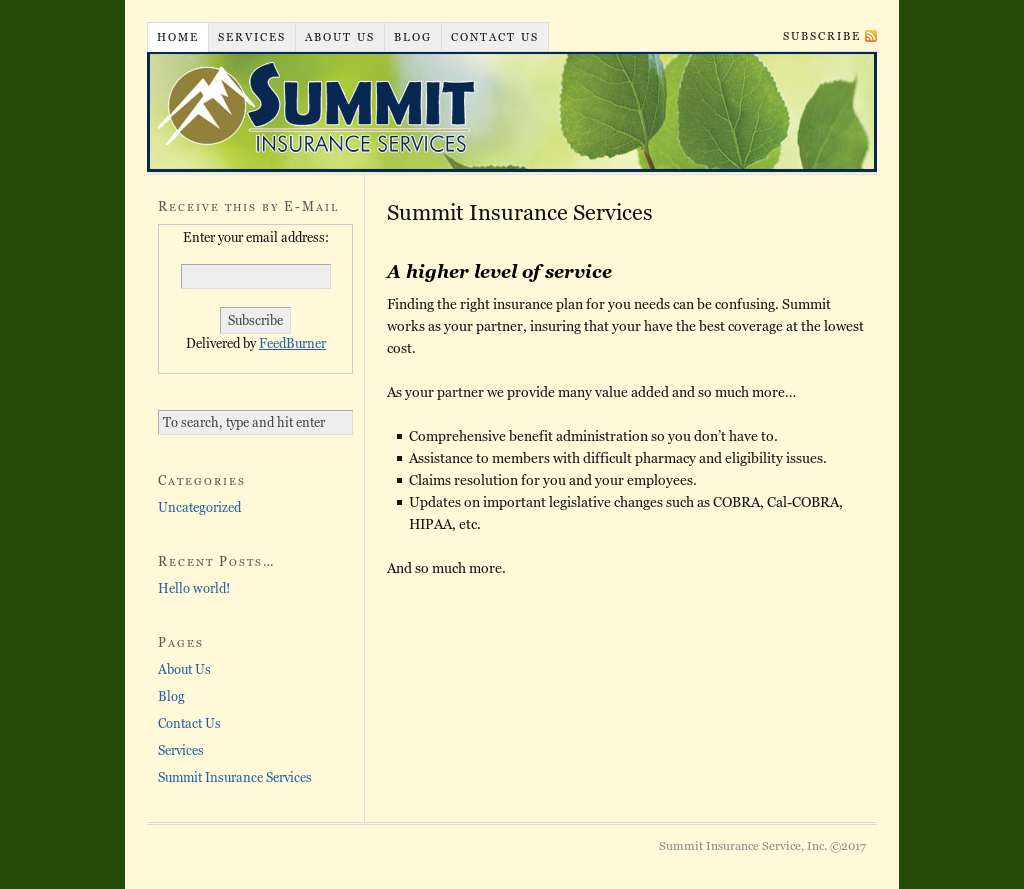 Summit Insurance Service Competitors Revenue And Employees Owler Company Profile