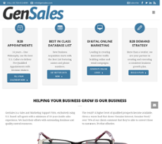 Generation Sales Group website history