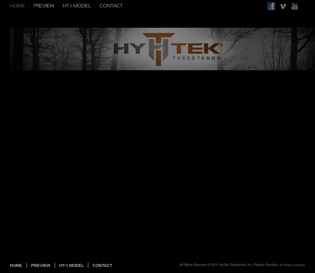 Hy-tek Treestands, Inc  Patents Pending  W Design Company