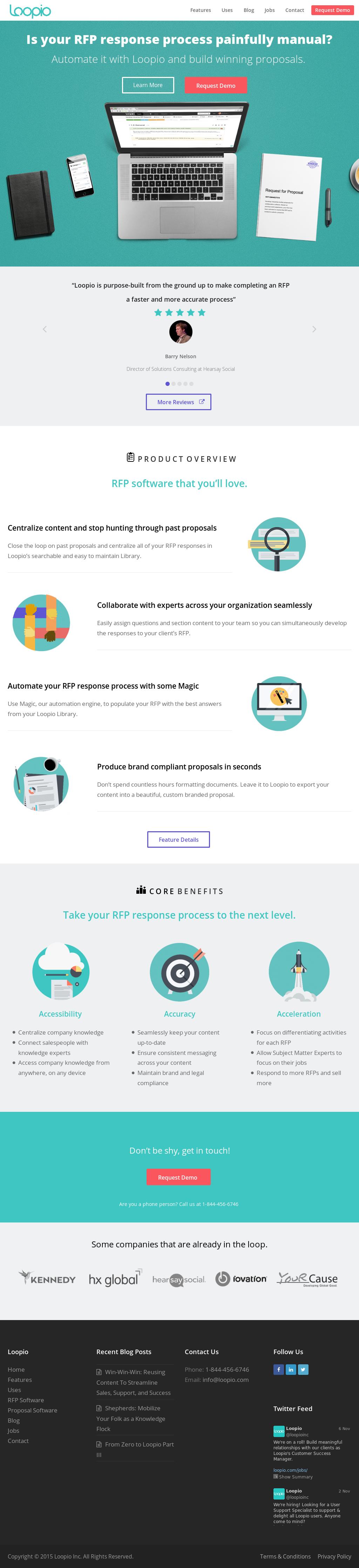 Loopio Competitors, Revenue and Employees - Owler Company Profile
