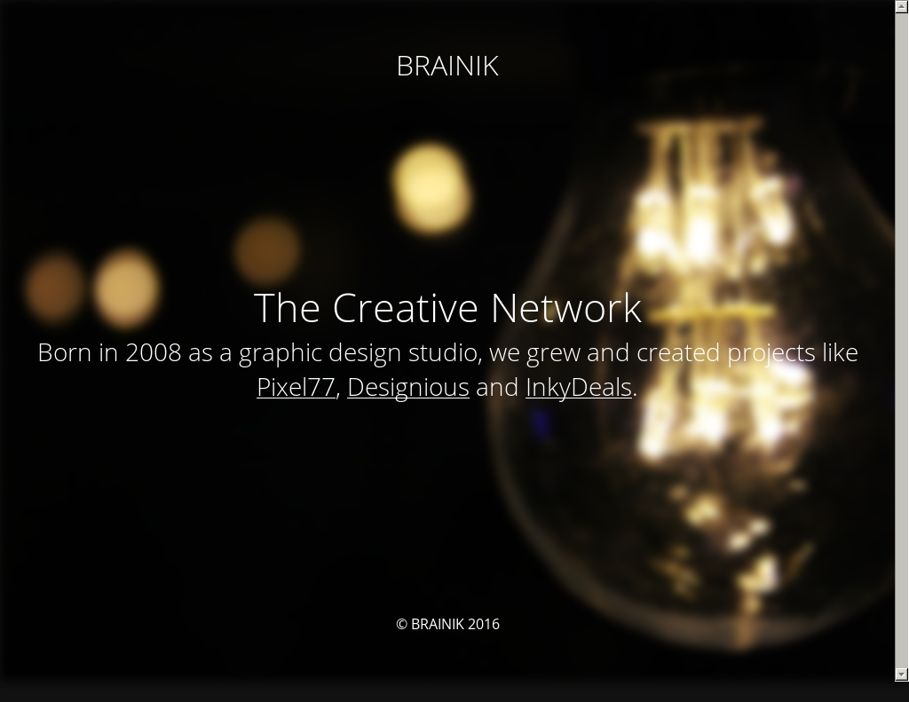 Brainik Network Competitors, Revenue and Employees - Owler