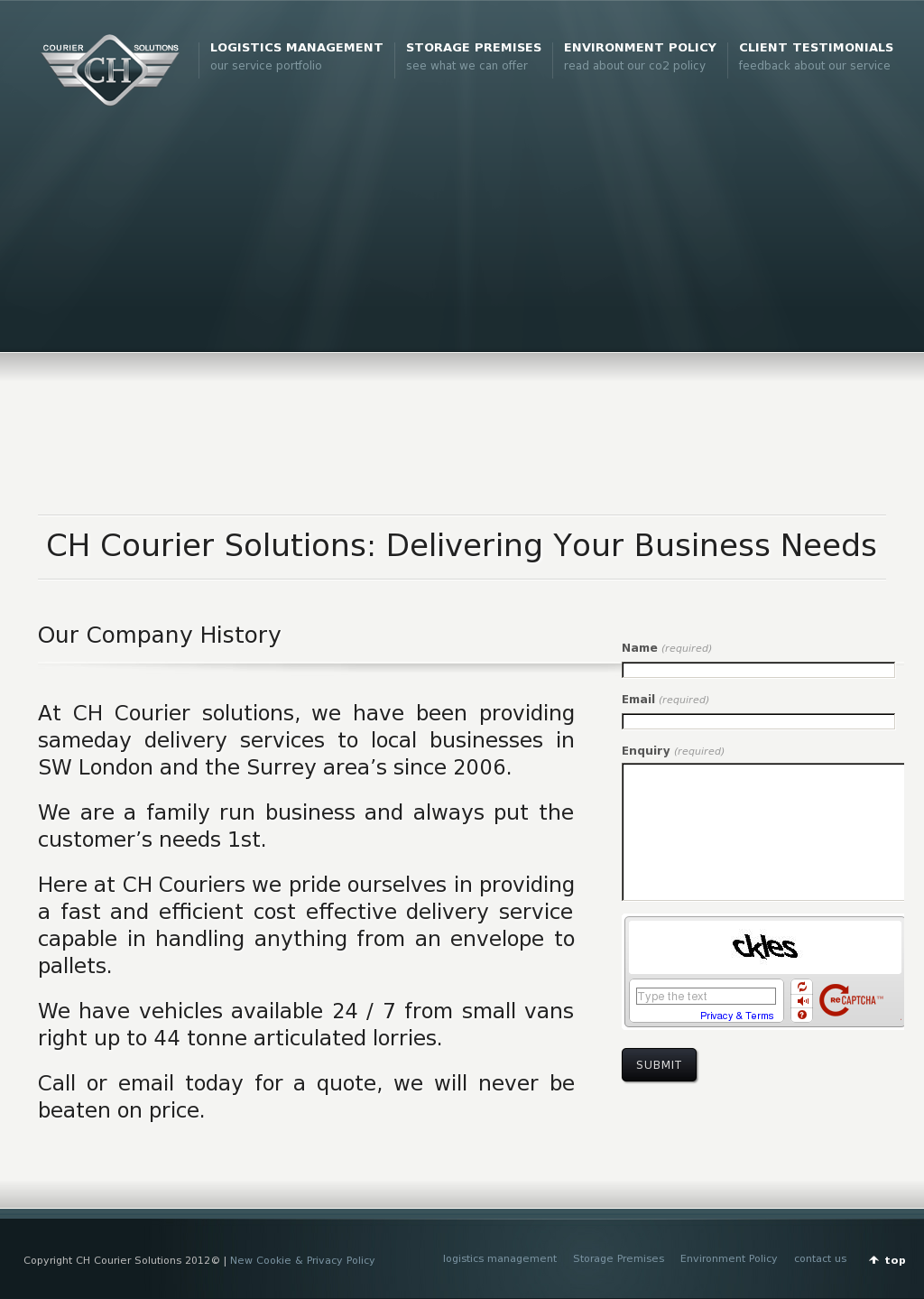 Ch Courier Solutions Competitors, Revenue and Employees - Owler