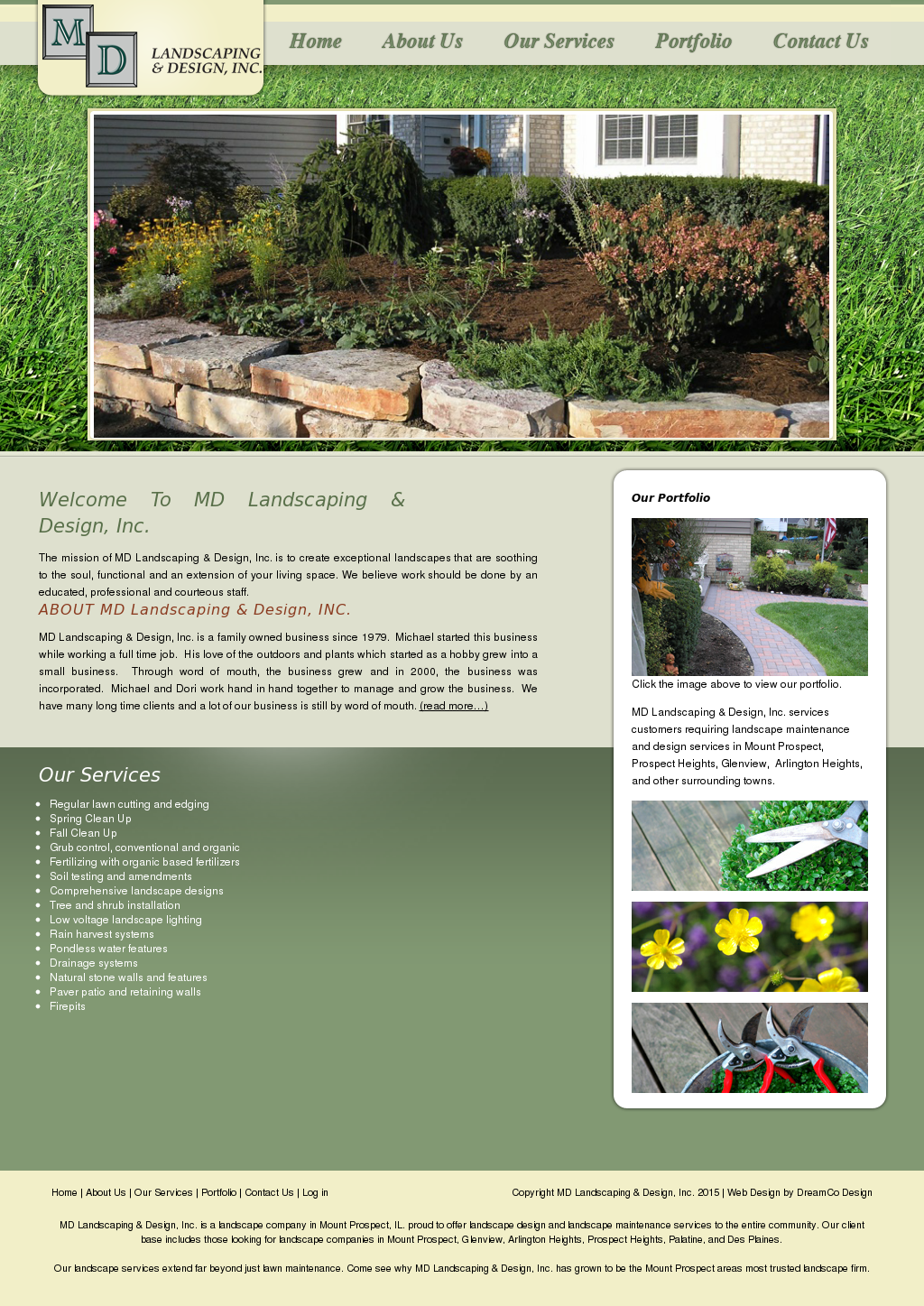 Md Landscaping Design Competitors Revenue And Employees Owler