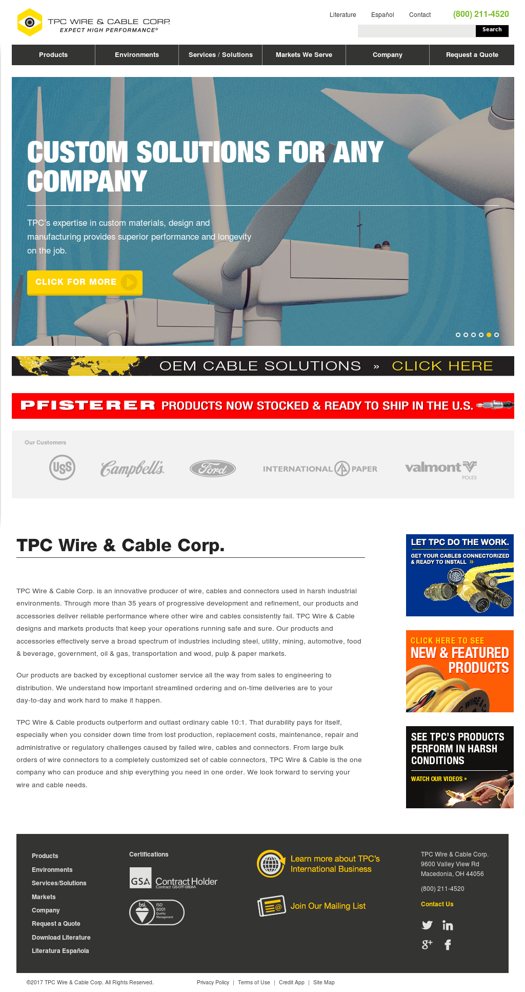 TPC Wire & Cable Competitors, Revenue and Employees - Owler Company ...