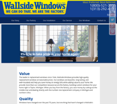 Wallside windows company profile owler for Wallside windows