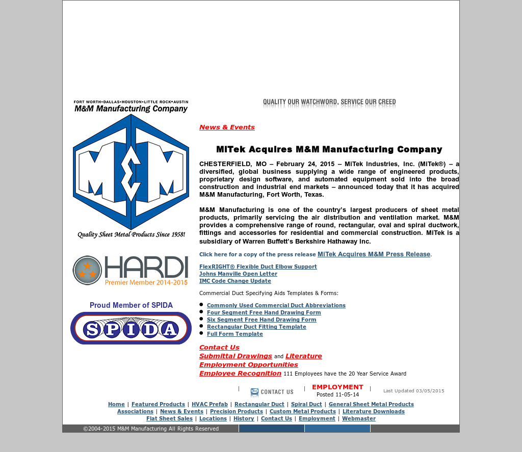 Mmmfg Competitors Revenue And Employees Owler Company Profile Hvac Drawing Templates