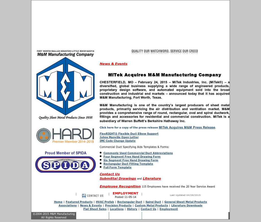 Mmmfg Competitors Revenue And Employees Owler Company Profile Hvac Drawing Abbreviations