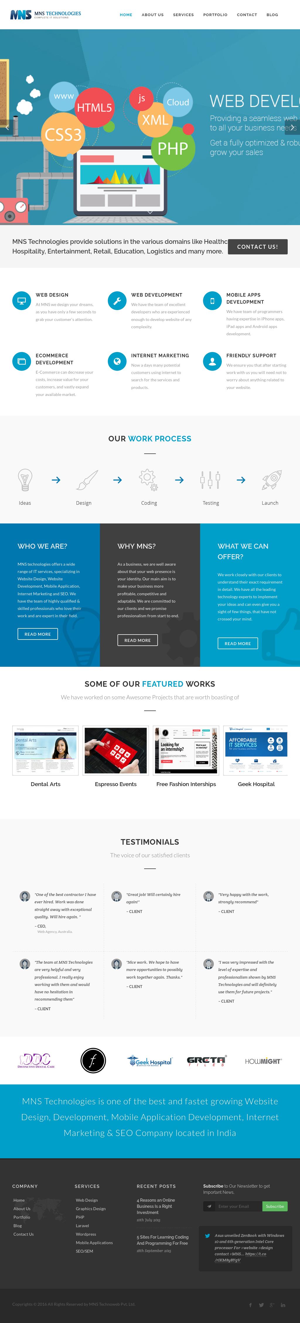 mns website