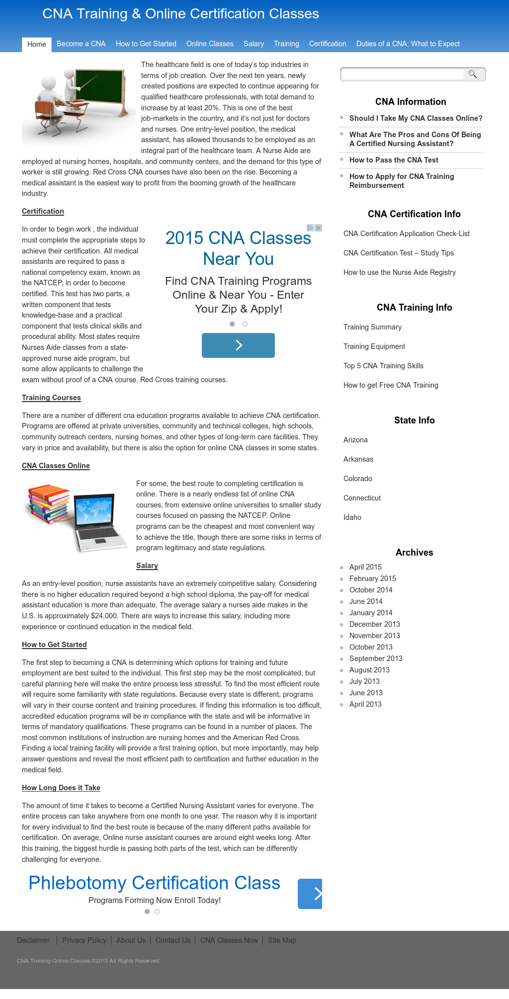 Cna Training Online Classes Competitors Revenue And Employees