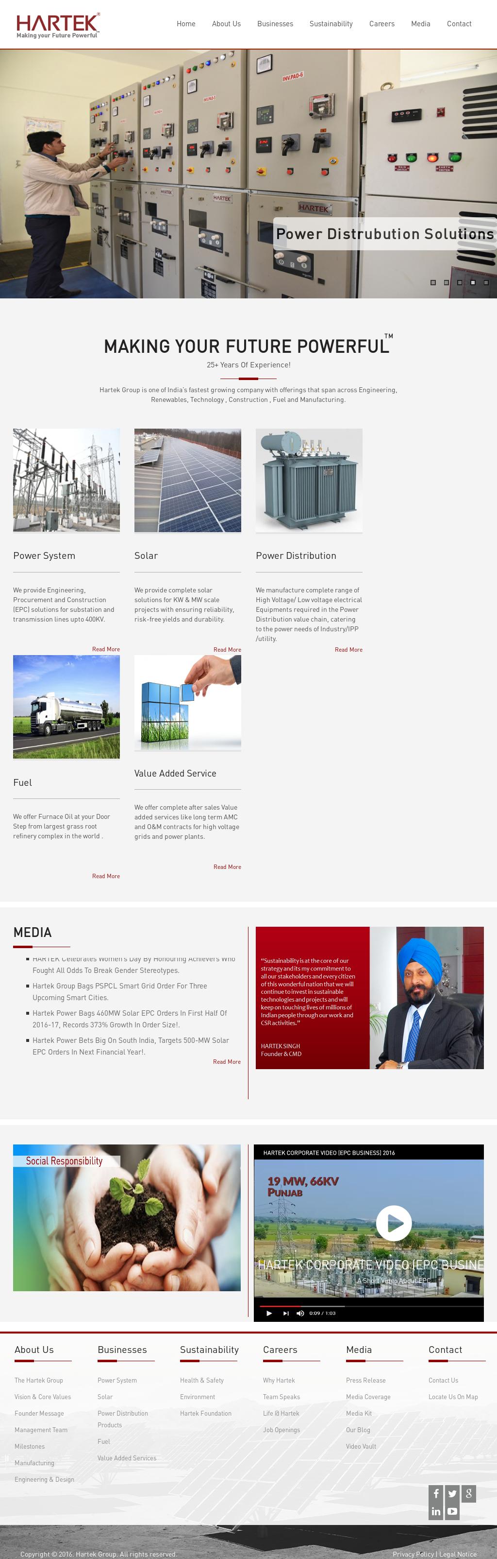 Hartekgroup website history Hartekgroup Competitors Revenue and