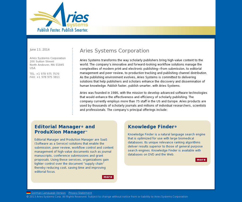 Aries Competitors, Revenue and Employees - Owler Company Profile