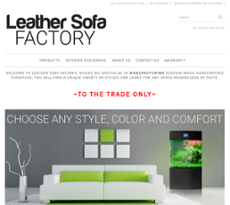 Leather Sofa Factory Competitors, Revenue and Employees ...