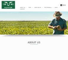 Hunter Food Services Website History