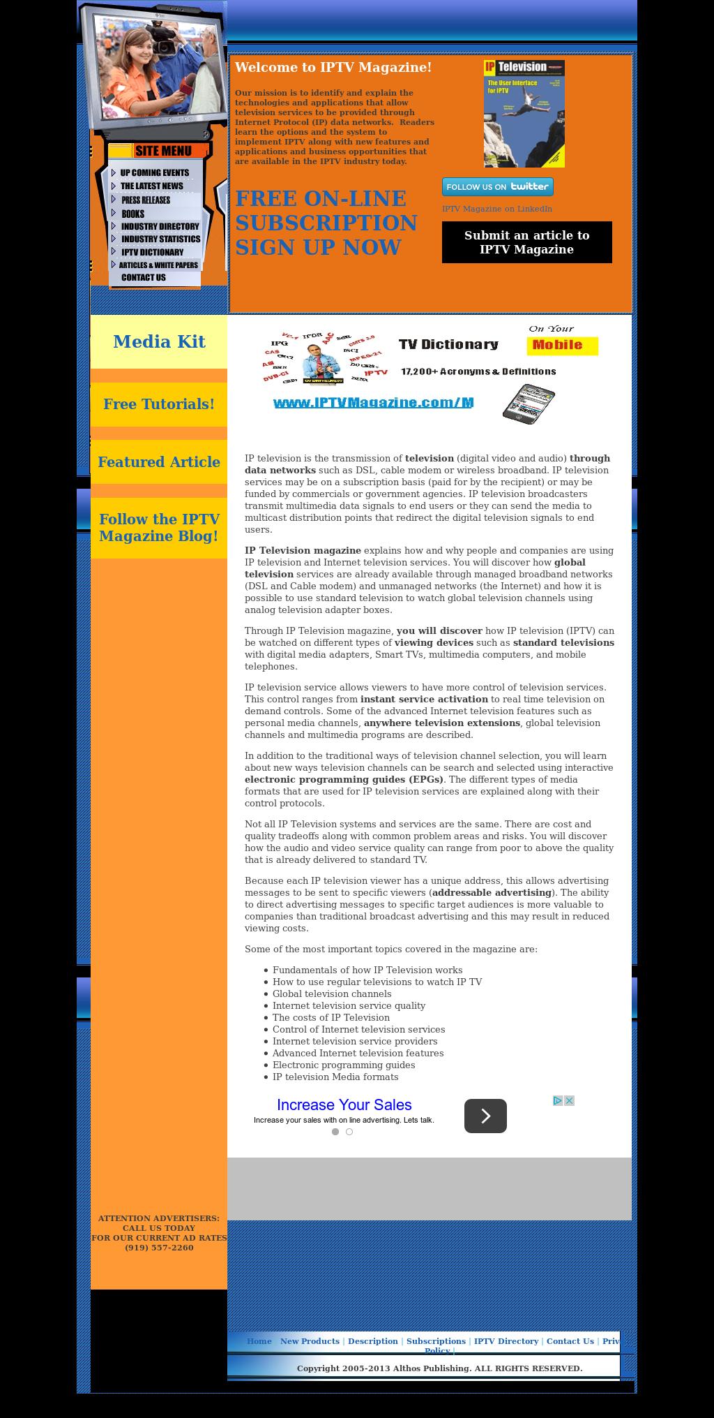 IPTV Magazine Competitors, Revenue and Employees - Owler Company Profile