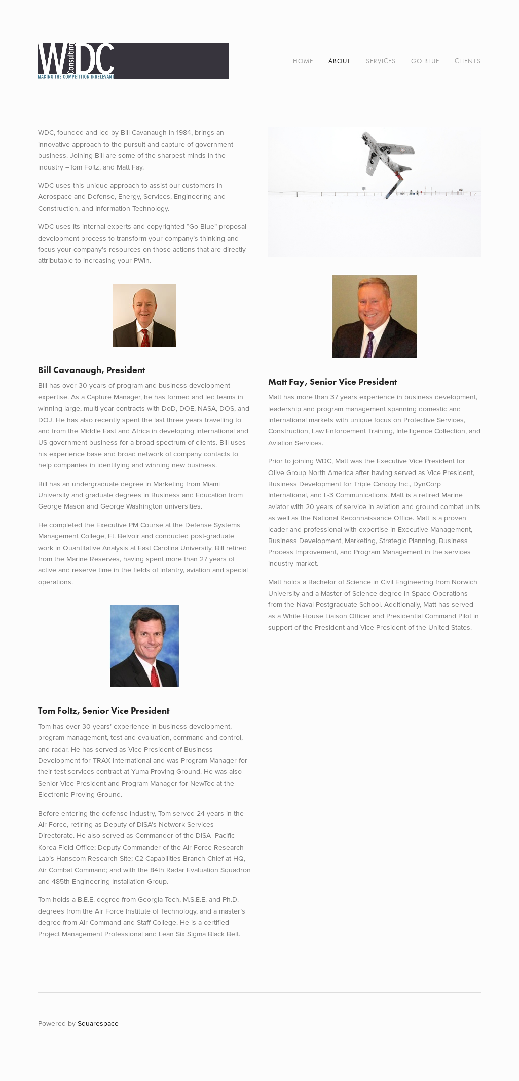 Present, Wdc Consulting Competitors, Revenue and Employees