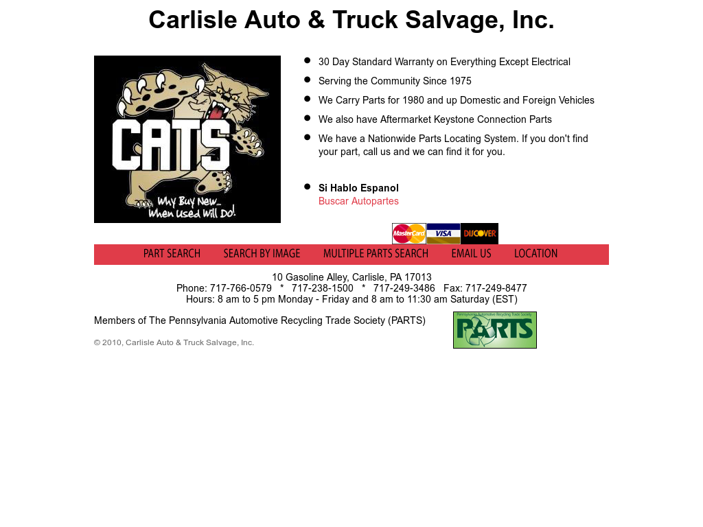 Carlisle Auto Salvage >> Carlisle Auto Truck Salvage Competitors Revenue And