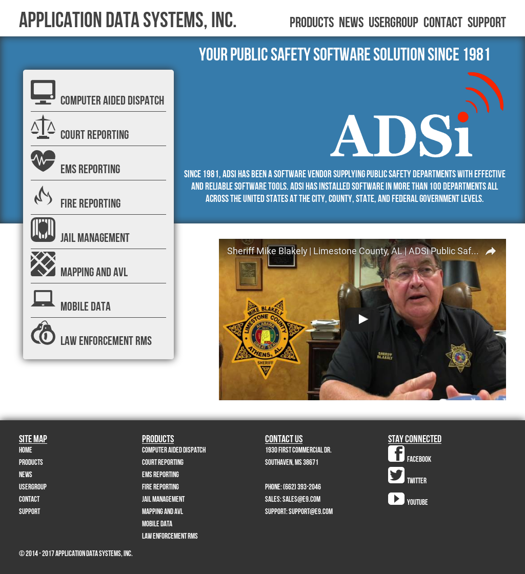 Owler Reports - Press Release: ADSi : ADSi Public Safety