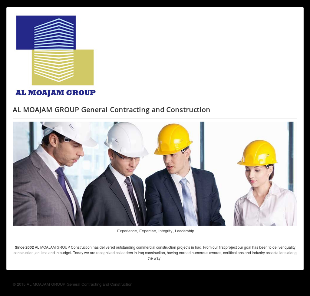 Al Moajam Group General Contracting And Construction