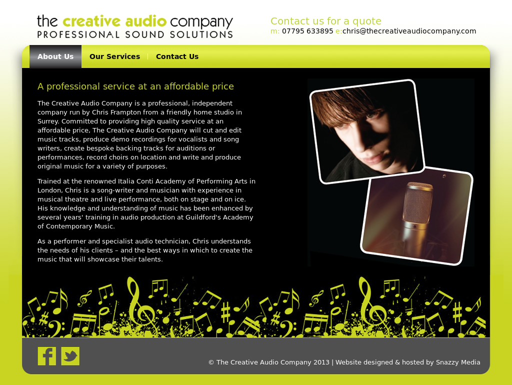 The Creative Audio Company Competitors, Revenue and
