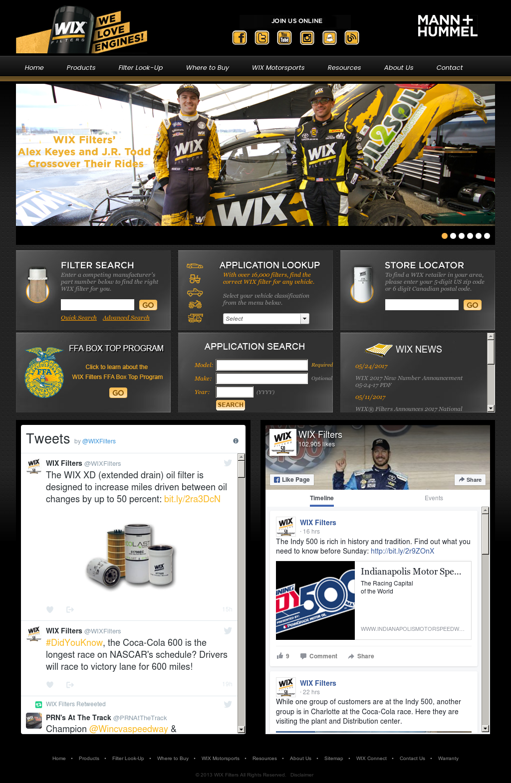 Wix Filter Lookup >> Wix Filters Competitors Revenue And Employees Owler