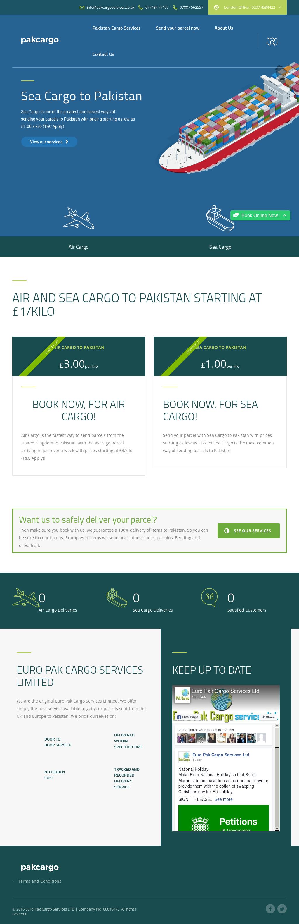 Euro Pak Cargo Express Service Competitors, Revenue and