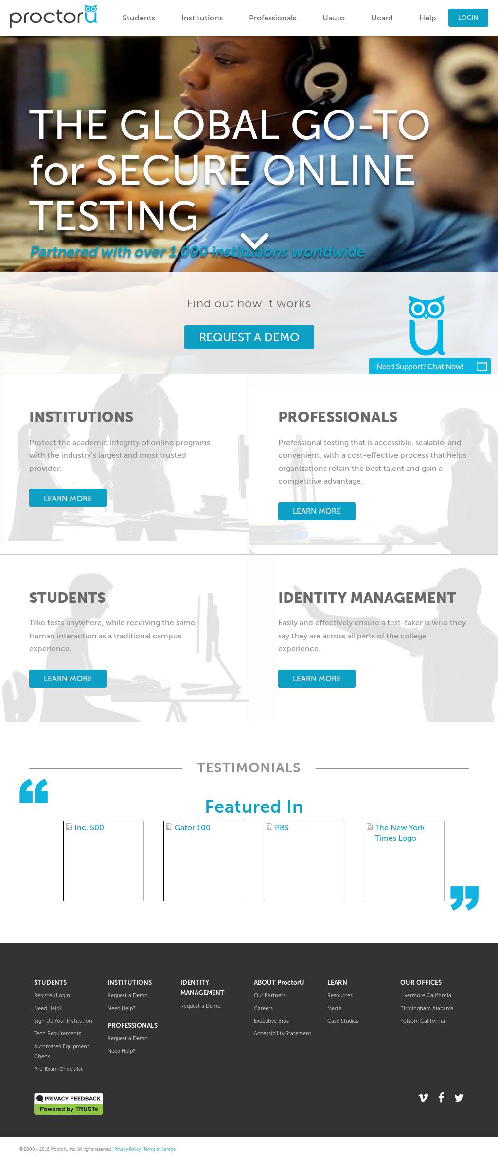 ProctorU Competitors, Revenue and Employees - Owler Company Profile