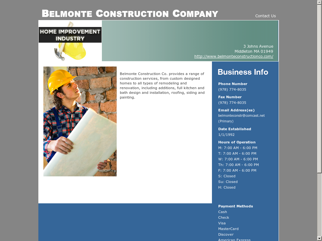 Belmonte Construction Company Competitors, Revenue and Employees ...