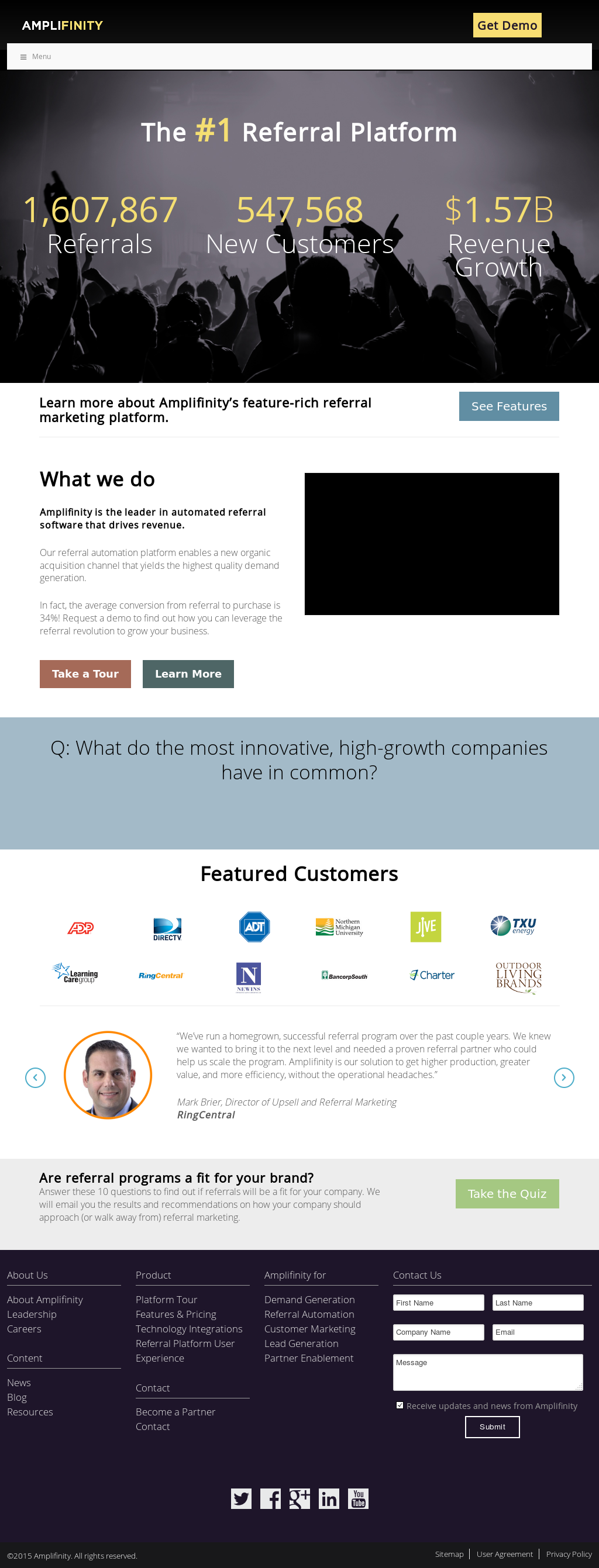 Amplifinity Competitors, Revenue and Employees - Owler