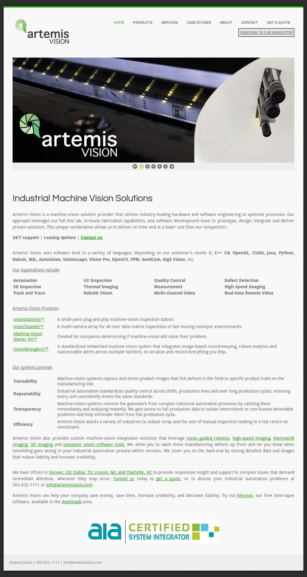 Artemisvision Competitors, Revenue and Employees - Owler