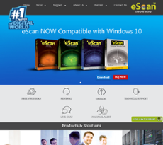 eScan website history