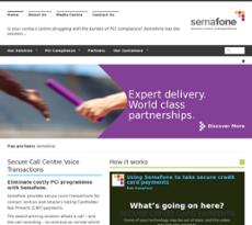 Semafone website history