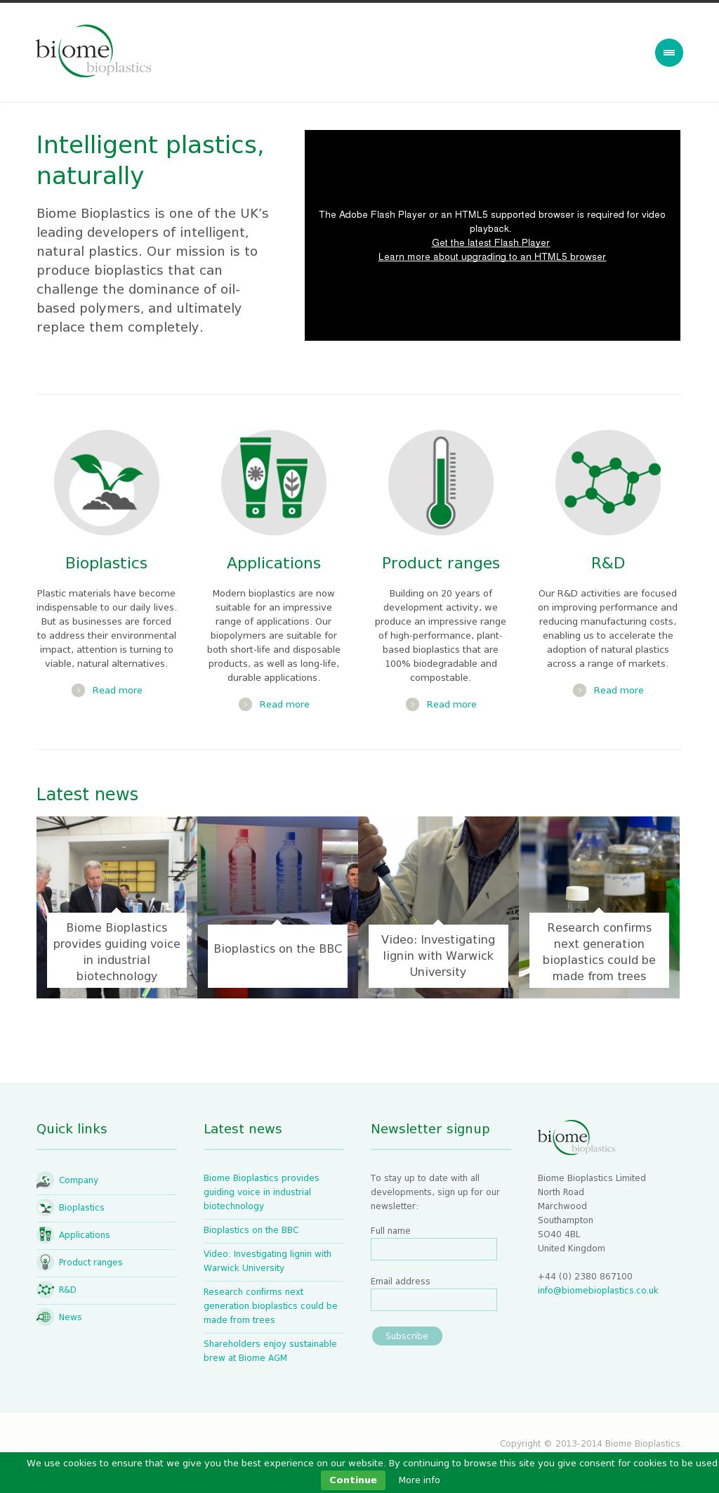 Biome Bioplastics Competitors, Revenue and Employees - Owler Company